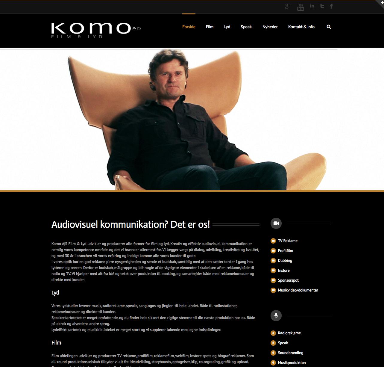 Komo.dk - ny produktion fra Tendentz