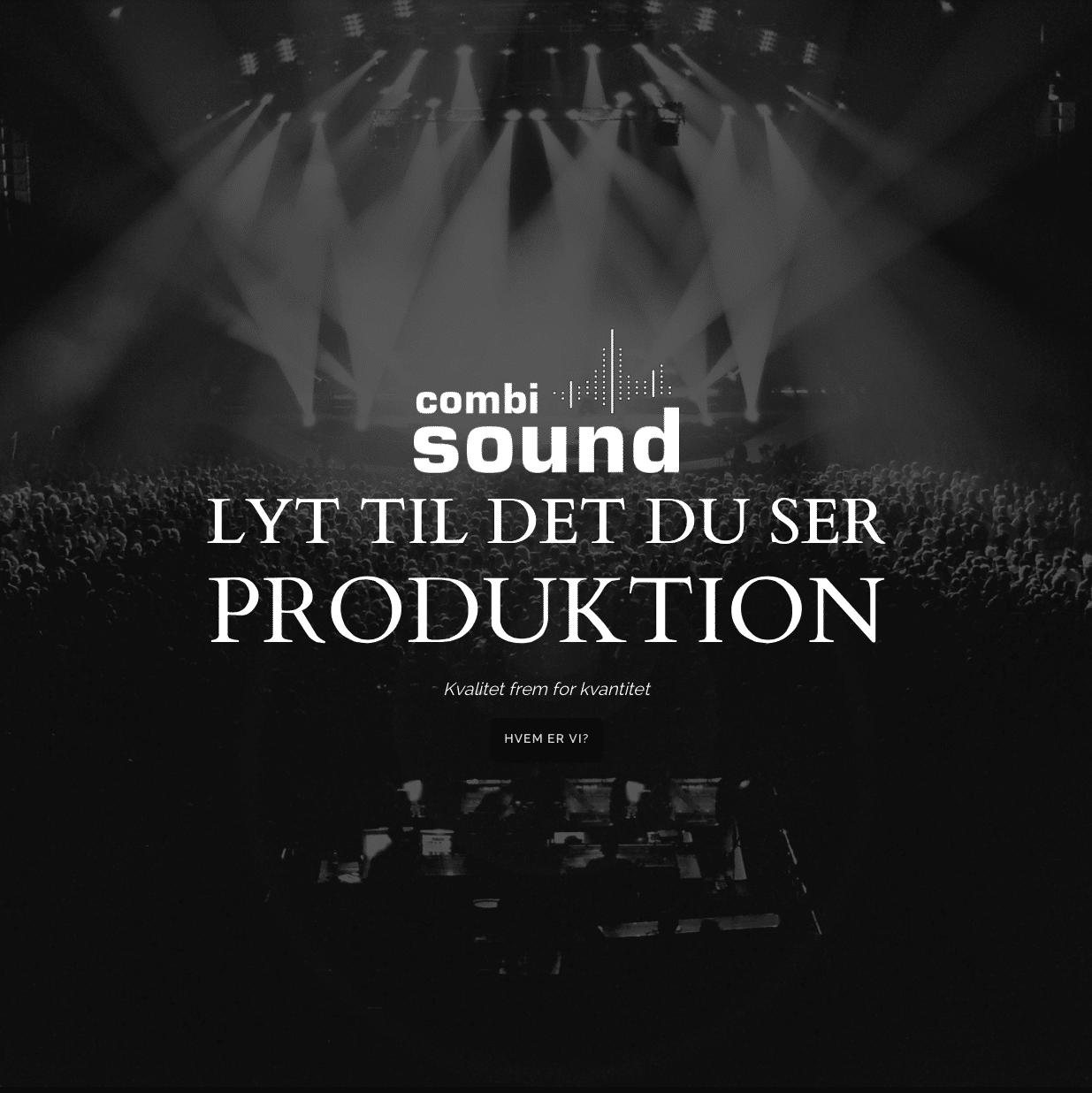 Tendentz har produceret nyt website til Combi Sound