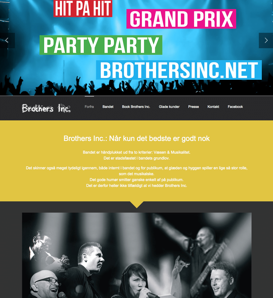 Brothers Inc. - nyt website