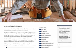 Nothlev-Lindegaard.dk - nyt website produceret af Tendentz