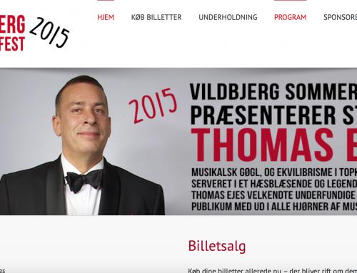Vildbjerg Sommerfest – nyt website