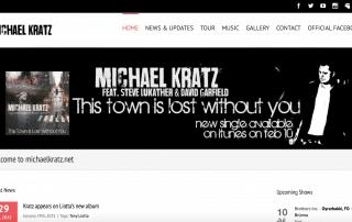 michaelkratz.net - produceret af Tendent