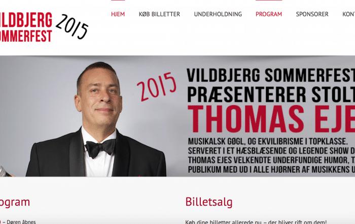 vildbjergsommerfest.dk - produceret af Tendentz
