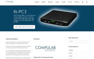 CompuLabNordic.dk - produceret af Tendentz
