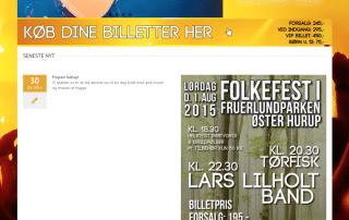 østerhurupsommerkoncert.dk - produceret af Tendentz