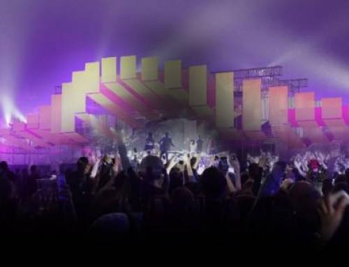 Tendentz leverer sceneudsmykning til Coutdown scenen på Roskilde Festival